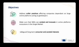 Digital Markets Act objectives