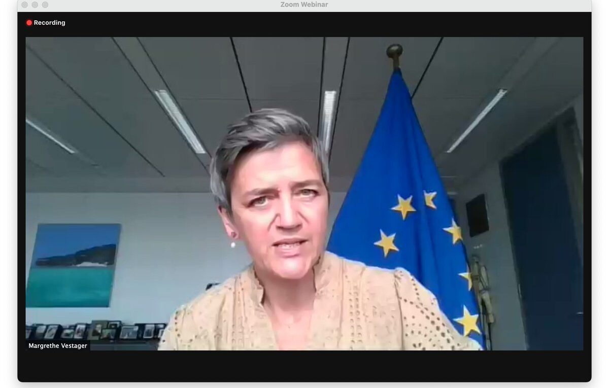 European Commission Executive Vice-President Margrethe Vestager